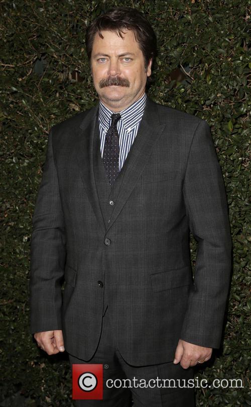 Nick Offerman, JW Marriott Los Angeles L.A. LIVE
