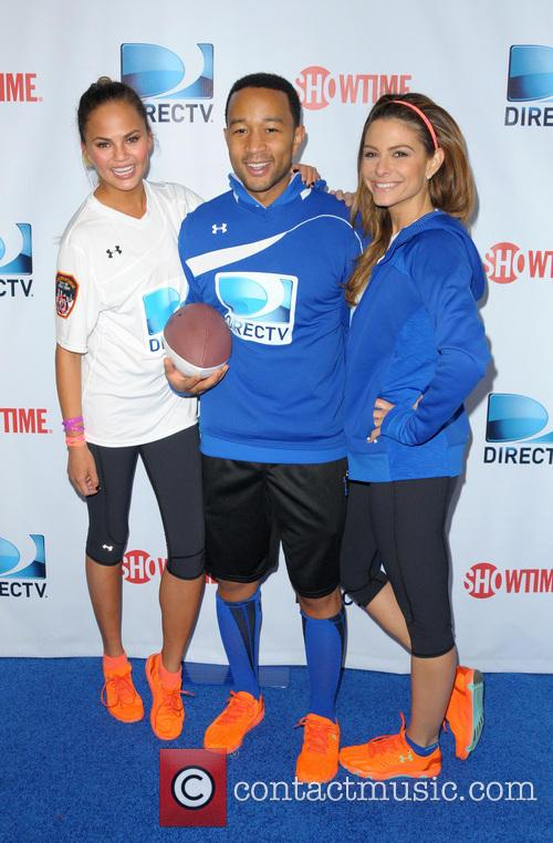 Christine Teigen, John Legend and Maria Menounos 7