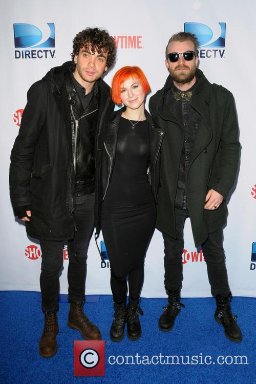 Hayley Williams, Taylor York, Jeremy Davis and Paramore 2