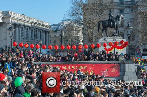 atmosphere chinese new year celebrations in london 4049974