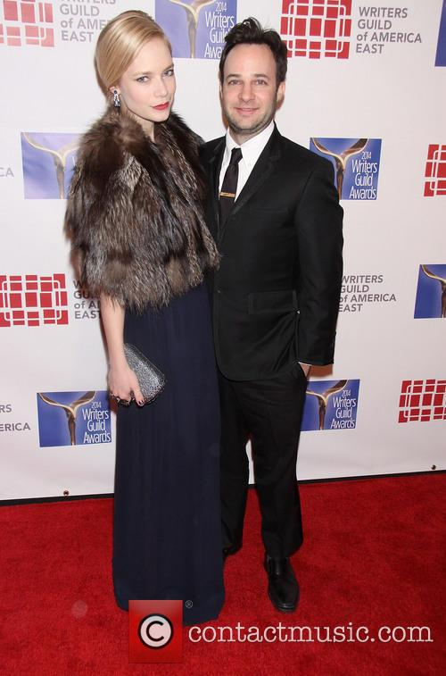 Caitlin Mehner and Danny Strong 1