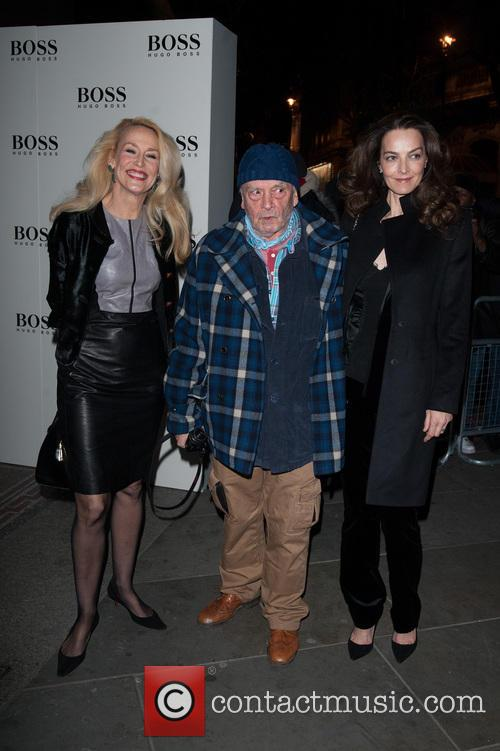 David Bailey, Jerry Hall and Catherine Dyer 2
