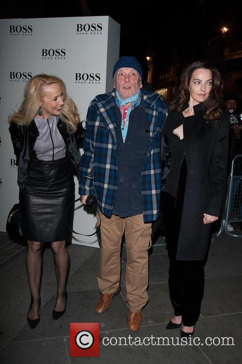David Bailey, Jerry Hall and Catherine Dyer 4