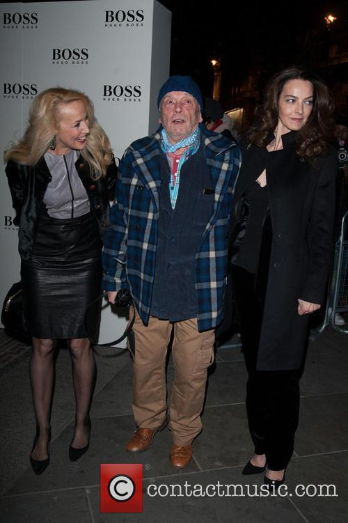 David Bailey, Jerry Hall and Catherine Dyer 7