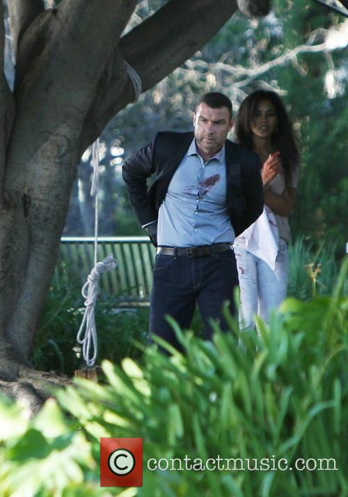 Liev Schreiber On Location For 'Ray Donovan'