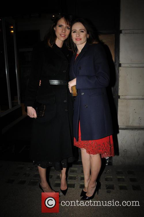 Dolly Wells and Emily Mortimer