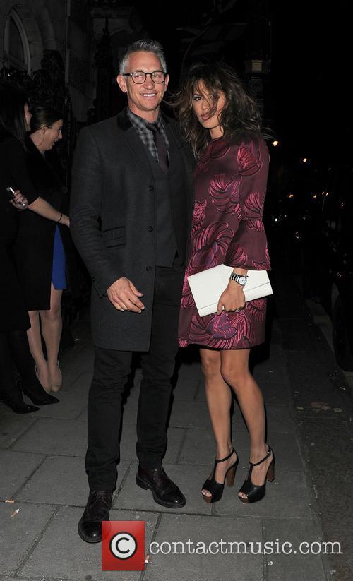 Gary and Danielle Lineker 2