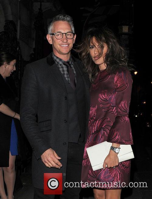 Gary and Danielle Lineker 3