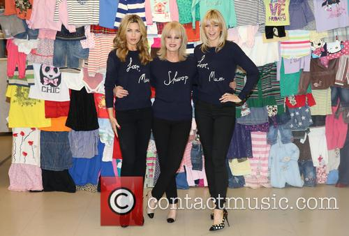 Abbey Clancy, Abbey Crouch, Joanna Lumley and Zoe Ball 5