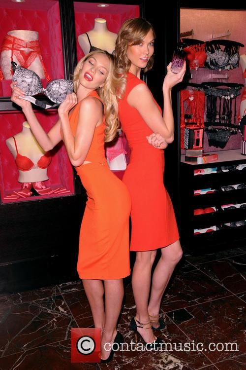 Candice Swanepoel and Karlie Kloss 2