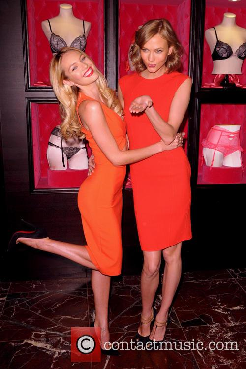 Candice Swanepoel and Karlie Kloss 5