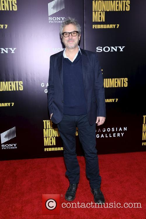 alfonso cuaron premiere of the monuments men 4052310