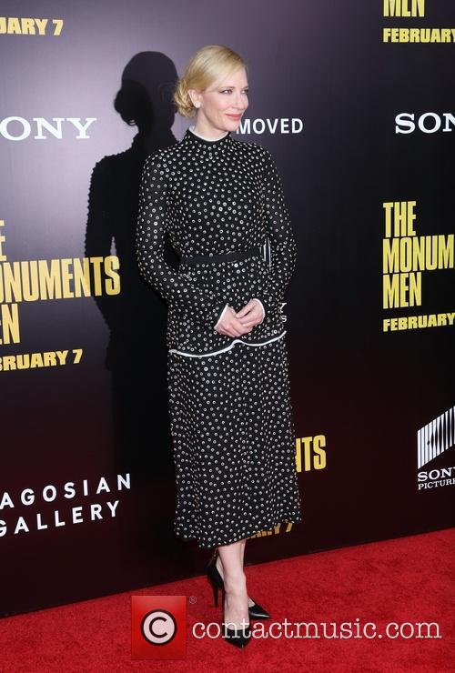 cate blanchett premiere of the monuments men 4052315