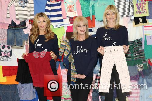 Abbey Clancy, Abbey Crouch, Joanna Lumley and Zoe Ball 2