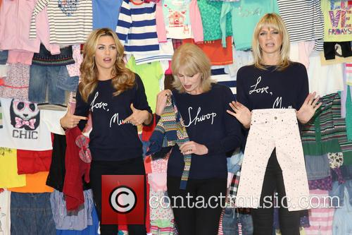 Abbey Clancy, Abbey Crouch, Joanna Lumley and Zoe Ball 3