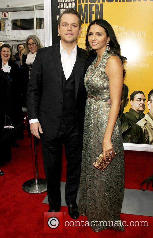 Matt Damon and Luciana Barroso 2