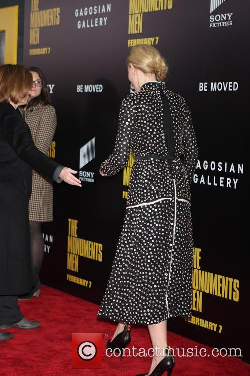 New York Premiere of 'The Monuments Men'