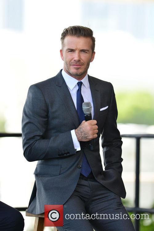 David Beckham 18