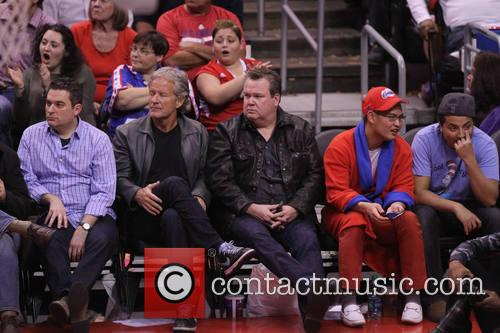 eric stonestreet celebs at the clippers game 4054310