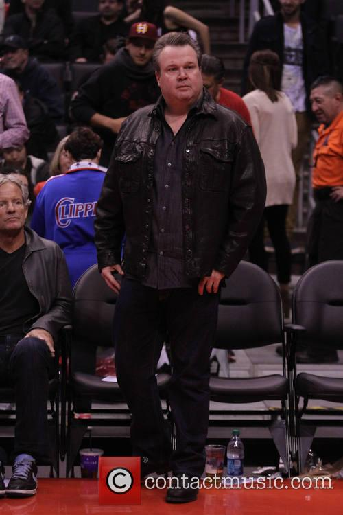 eric stonestreet celebs at the clippers game 4054354