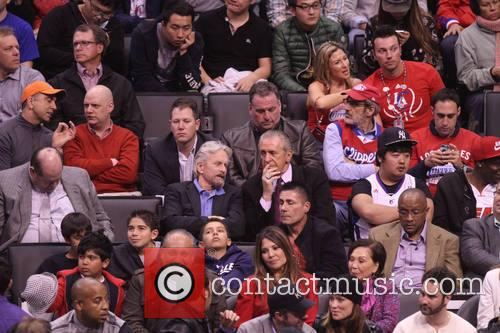 Michael Douglas and Pat Riley 5