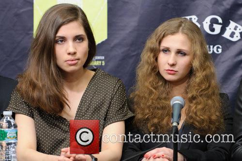 Nadezhda Tolokonnikova and Maria Alyokhina 2