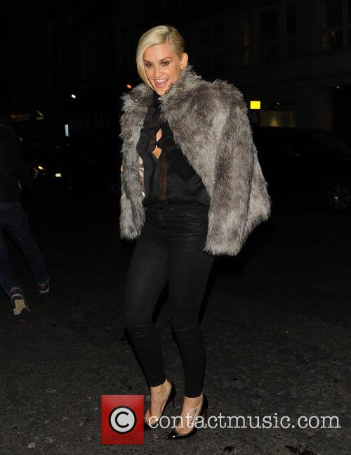 Ashley Roberts night out