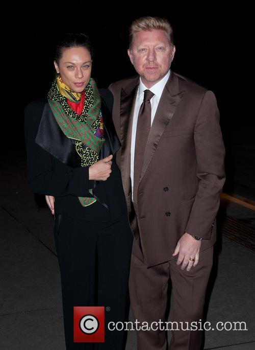 Boris Becker and Lilly Kerssenberg 1