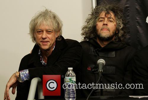 Bob Geldof and Wayne Coyne 3