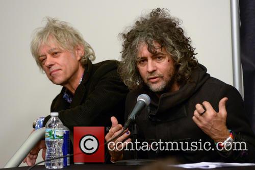Bob Geldof and Wayne Coyne 1