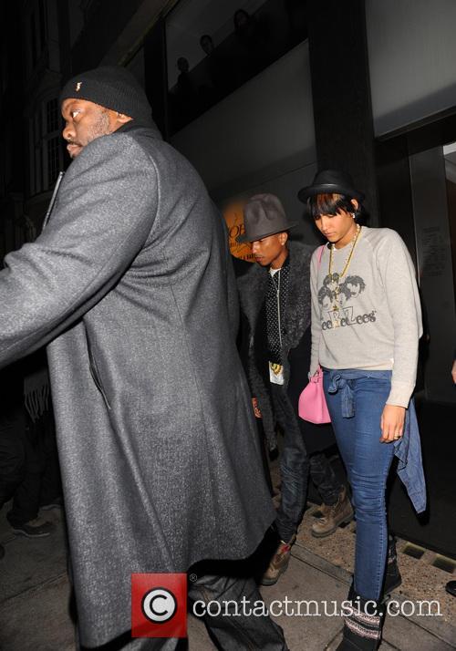 Pharrell Williams and Helen Lasichanh 6