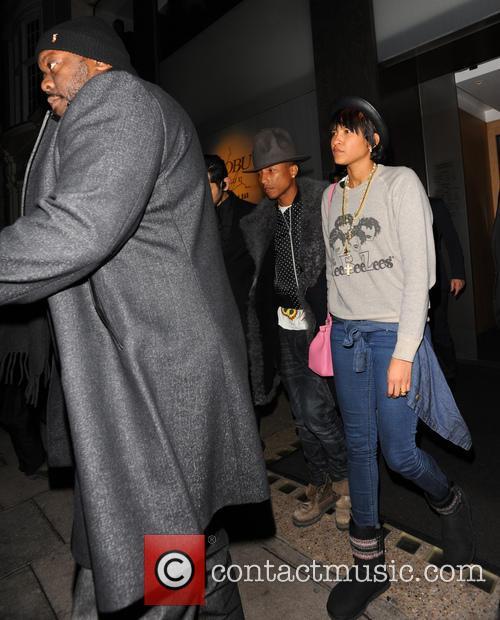 Pharrell Williams and Helen Lasichanh 8