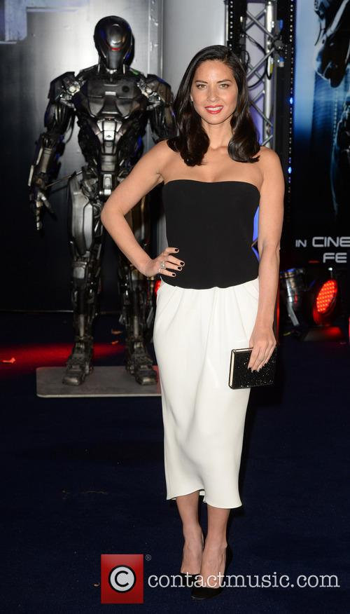 The world premiere of 'Robocop'