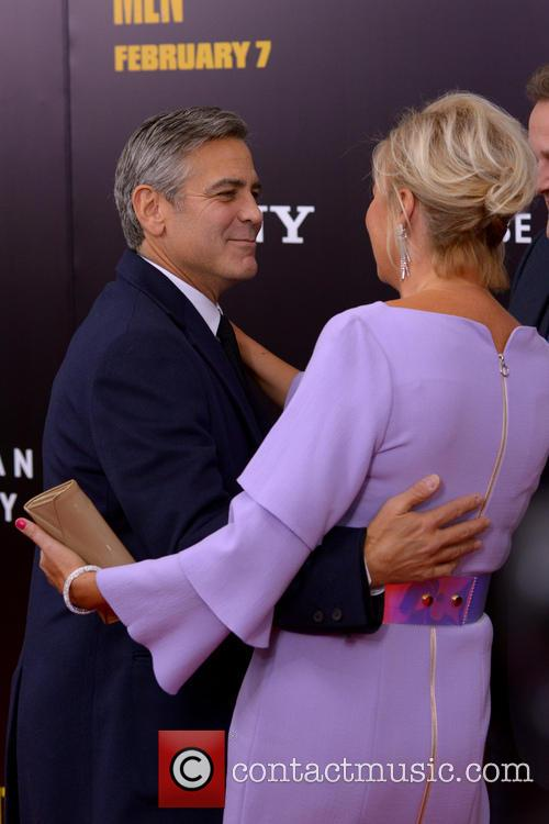 George Clooney and Lulu Williams 2