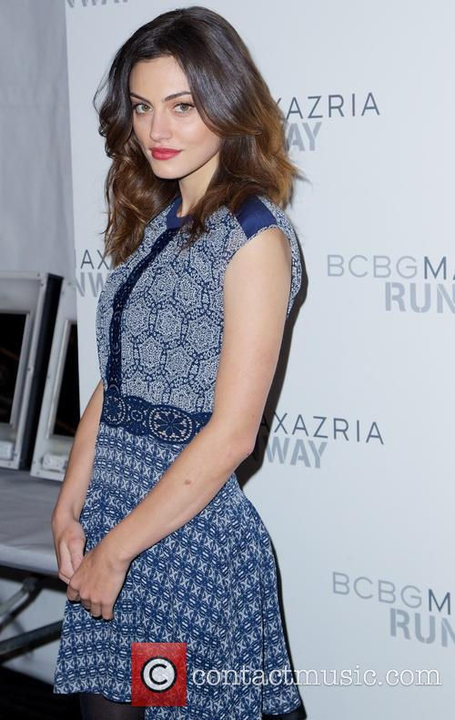 phoebe tonkin the bcbgmaxazria fall 2014 collection 4054206