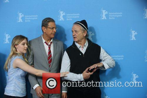 Saoirse Ronan (l-r), Jeff Goldblum and Bill Murray 4