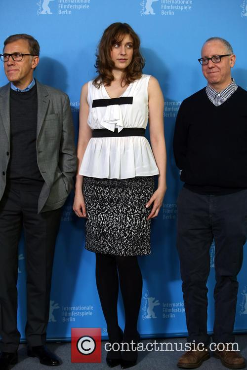 Christoph Waltz, Greta Gerwig and James Schamus 4