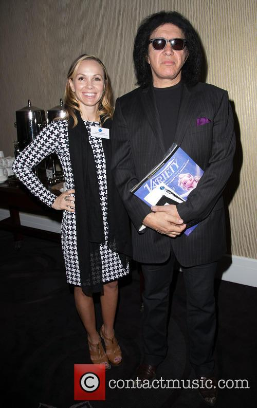 Christina Martin and Gene Simmons 2