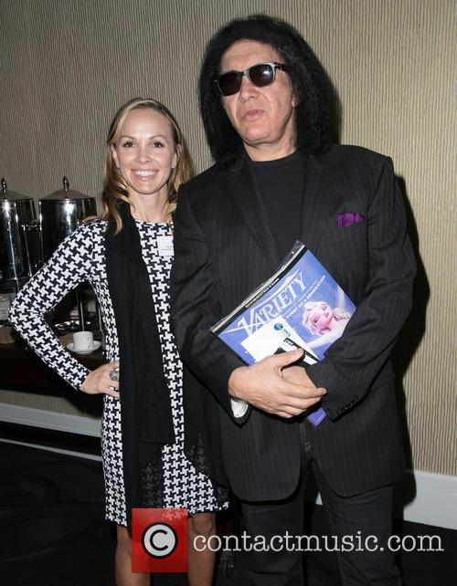 Christina Martin and Gene Simmons 1