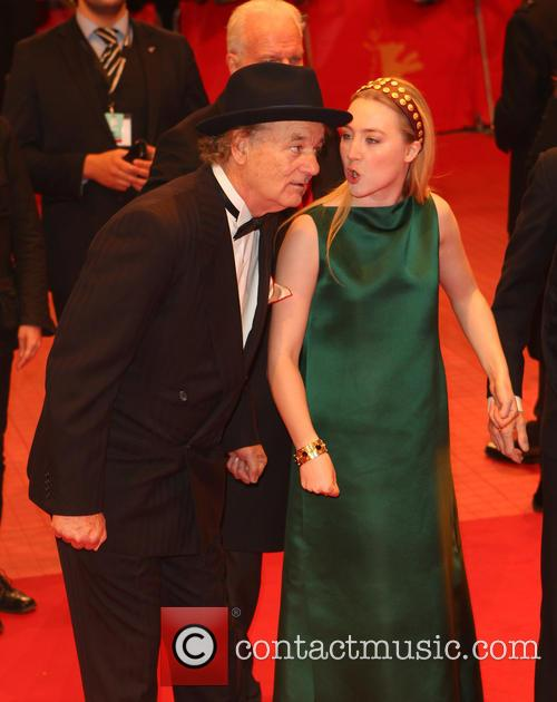 Bill Murray and Saoirse Ronan