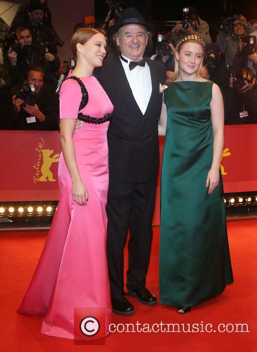 Lea Seydoux, Bill Murray and Saoirse Ronan 1