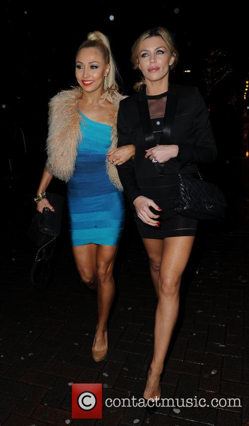 Iveta Lukosiute and Abbey Clancy 2