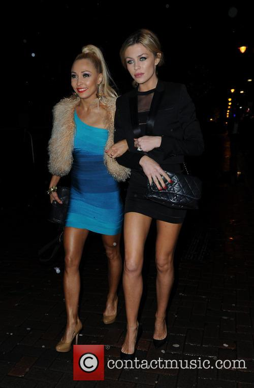 Iveta Lukosiute and Abbey Clancy 4