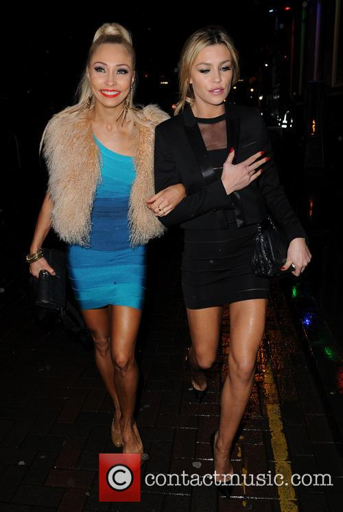 Iveta Lukosiute and Abbey Clancy 5