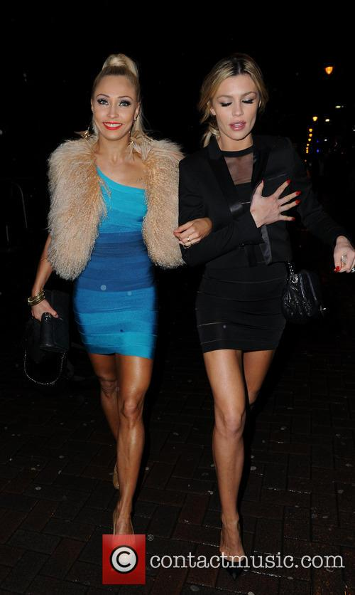 Iveta Lukosiute and Abbey Clancy 8