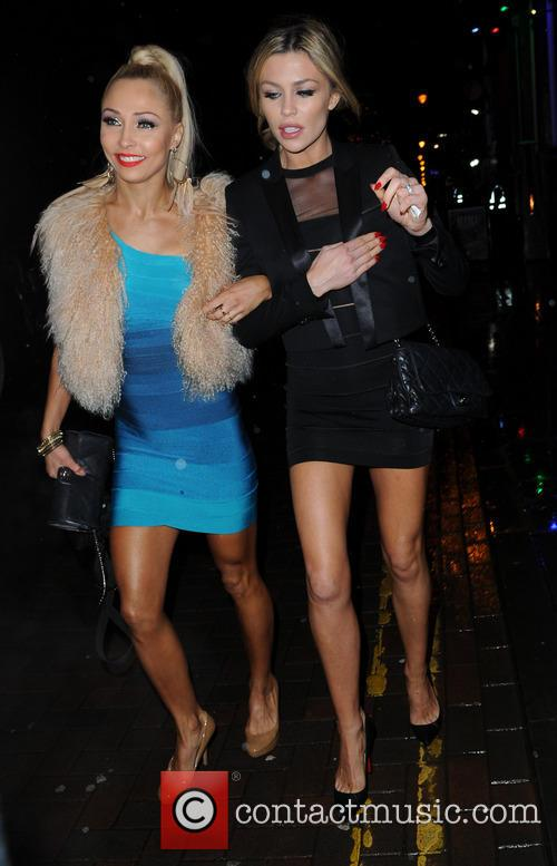 Iveta Lukosiute and Abbey Clancy 9