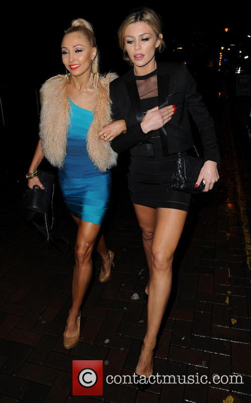 Iveta Lukosiute and Abbey Clancy 10