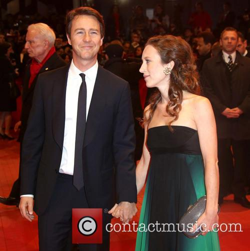 Edward Norton and Shauna Robertson 1