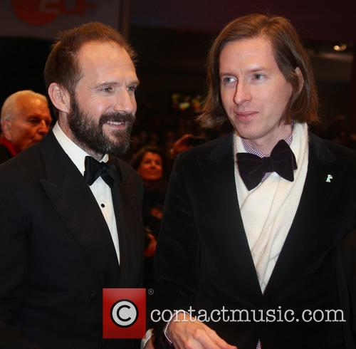 Ralph Fiennes and Director Wes Anderson 3