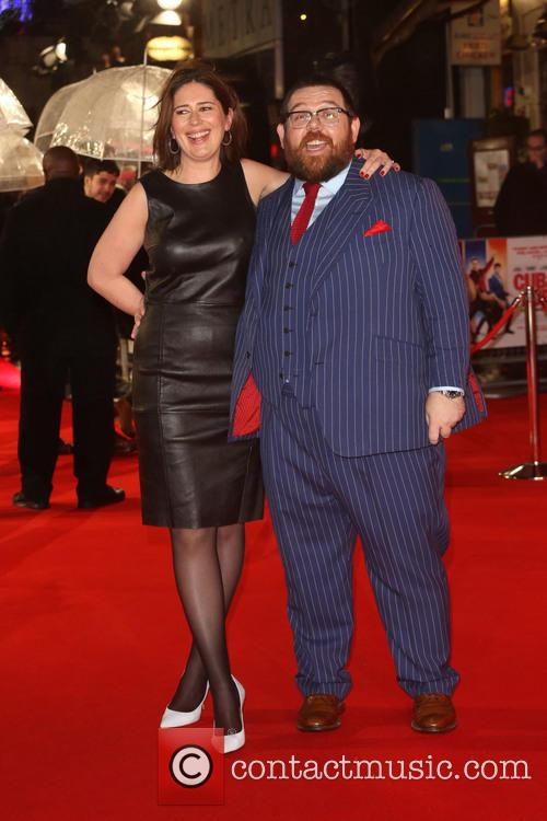 Nick Frost and Wife Christina Frost 3